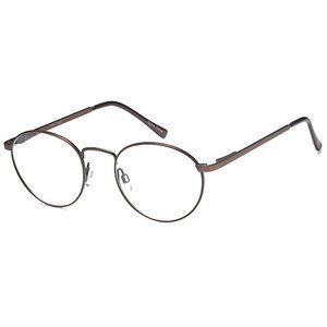 Peachtree Round Style Brown Frame